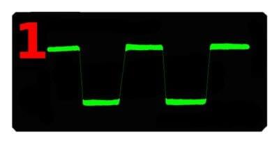 Как проверить усилитель звука  прямоугольным сигналом - изображение