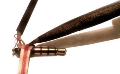 Пластиковая труба в качестве клея при ремонте бракованных Xiaomi Piston 3