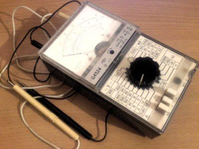 Ц4324 - Комбинированный измерительный прибор (мультиметр) фото