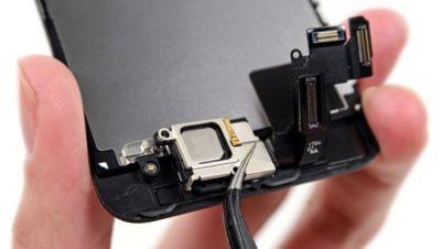 не работает динамик телефона или айфона - снятие динамика на айфоне