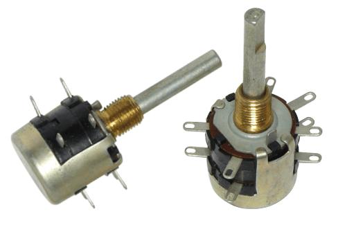 переменный резистор с дополнительными отводами