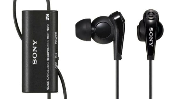 внутриканальные наушники с активным шумоподавлением Sony MDR NC13