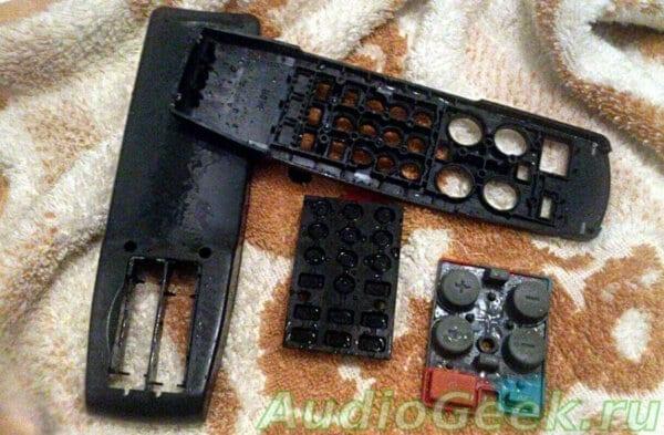 Не работают кнопки на пульте телевизора, как починить пульт