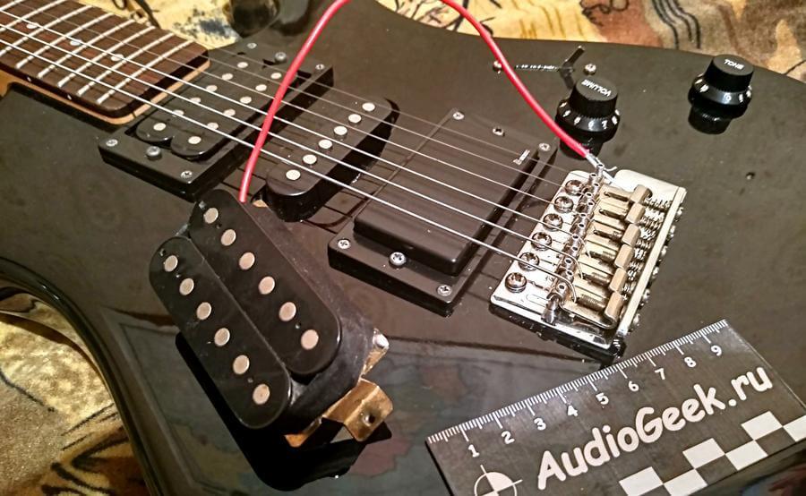 звукосниматель для гитары, как установить своими руками