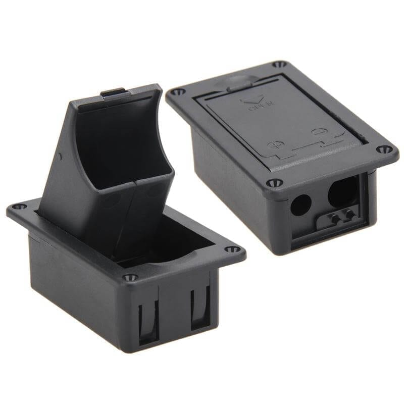отсек для батареек для активного звукоснимателя