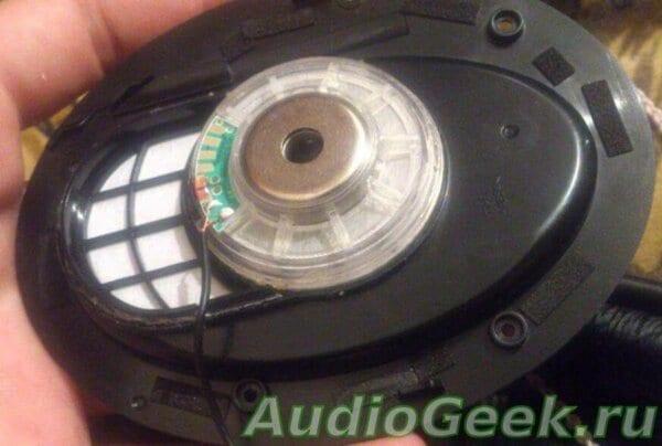 Разбор и легкое демпфирование Sennheiser HD 380 Pro