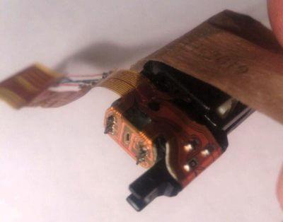 Как починить шлейф головки CD-плеера, ремонт шлейфа своми руками