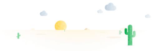 нарисованная пустыня