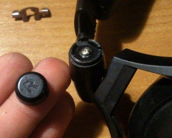 Sennheiser HD 380 Pro Sennheiser PXC 350 разбор шарниров ремонт