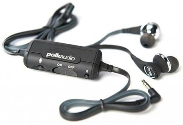 внутриканальные наушники с активным шумоподавлением Polk UltraFocus 6000i