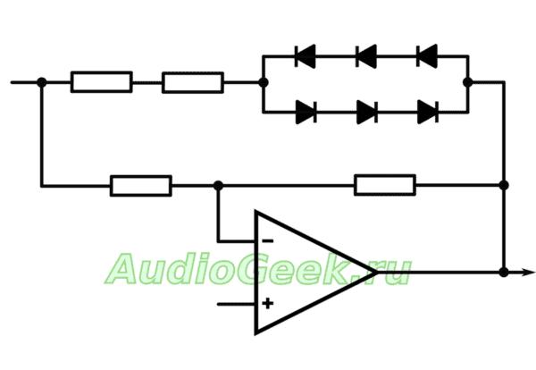 Простой качественный генератор синуса на мосту Вина генератор синусоида