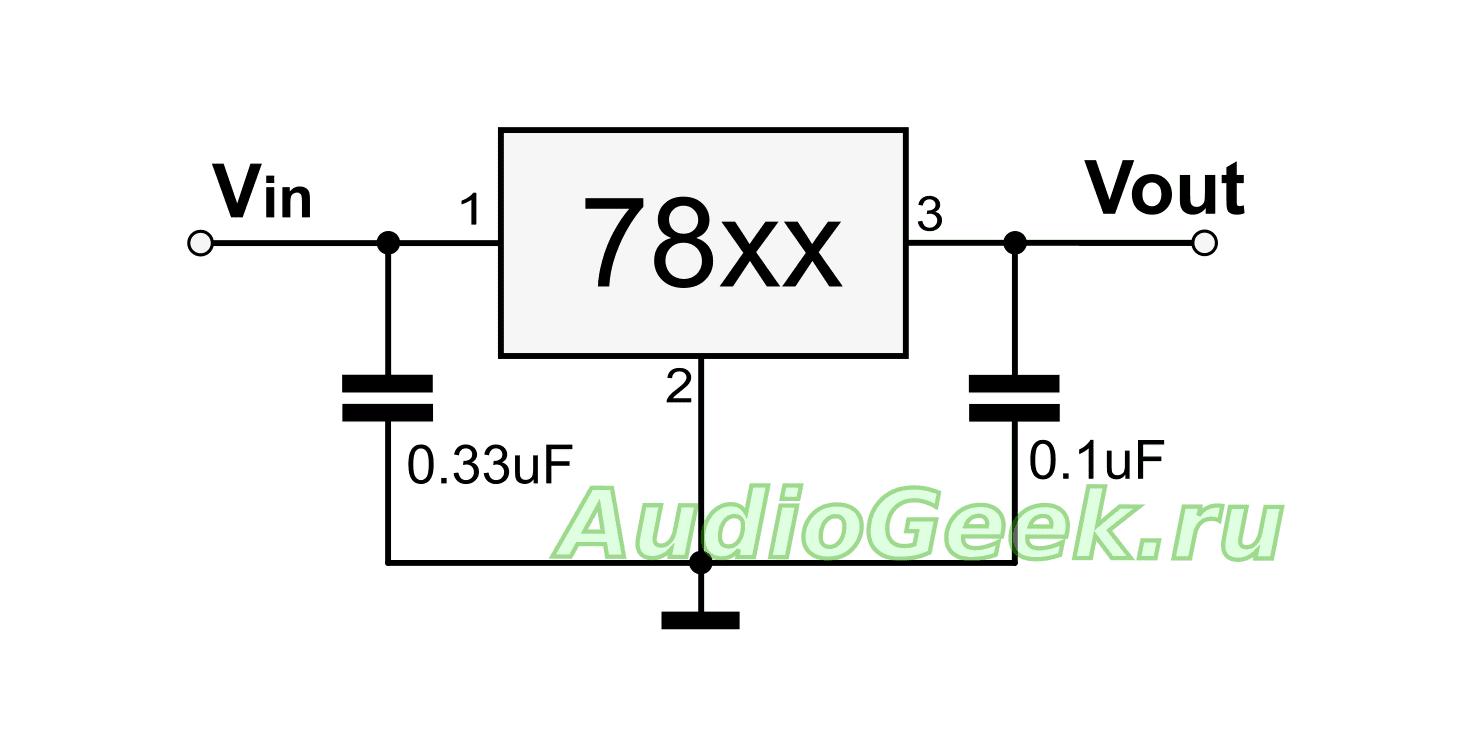 схема источника тока, простой источник тока