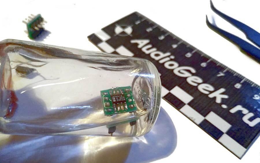 Переходник для микросхем из SO8 в DIP8