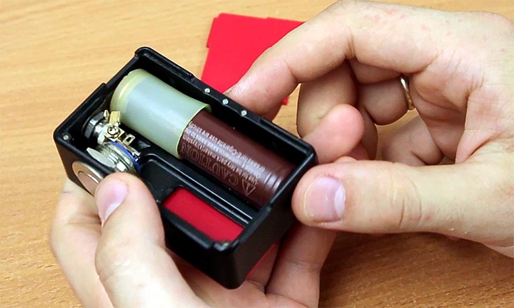 корпус усилителя для микрофона из вейпа